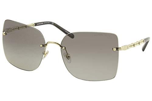 Michael Kors Damen 0MK1057 Sonnenbrille, Light Gold (101411), 60