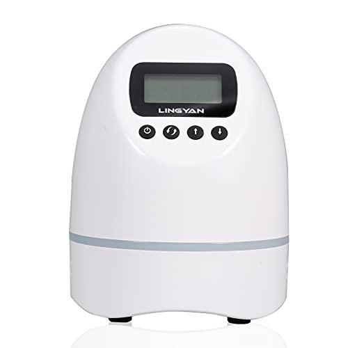 Sunydog Generador de ozono, purificador de Aire, máquina ozonizadora, Ideal para el hogar, Taller, Coche, habitación para Mascotas, Mejora el Entorno del Aire Interior