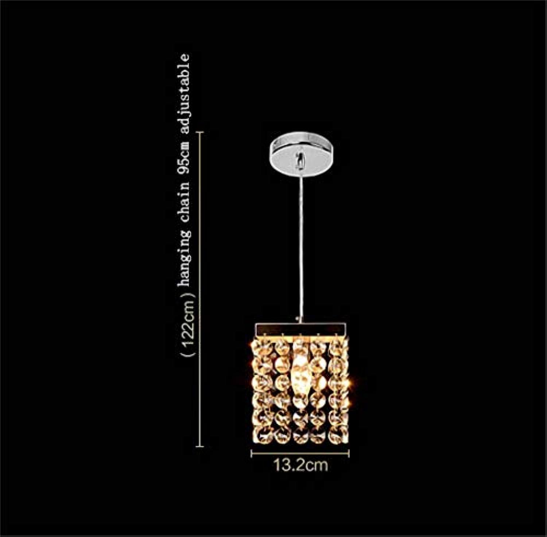 Crystal Modern Minimalist Restaurant Esszimmer Bar Bett Balkon Gang Kronleuchter (ohne die Lichtquelle) (Stil  1)
