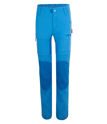 Trollkids Arendal Trekking Hose XT, Mittelblau, Größe 134