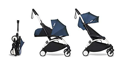 Babyzen Yoyoyo² AirFrance - Juego completo de carrito de bebé (0 + y 6 años, estructura de color blanco)