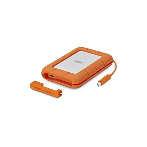 LaCie 4TB Rugged Thunderbolt & USB-C Mobile External Hard Drive