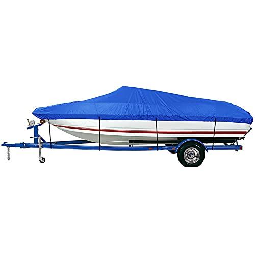 pulley Copertura in Canoa, 11-13FT Waterproof Kayak Cover,con stoccaggio 300D Borsa Copertura Antipolvere e protettore UV, per la Barca da Pesca, Canoa e Kayak