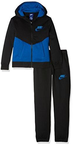 Nike B NSW TRK Bf Core Trainingsanzug, für Kinder S schwarz (Blue Jay)