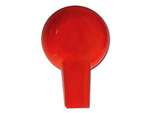GIMA 28391 adapterklem, 2 mm, rood (pak van 10)