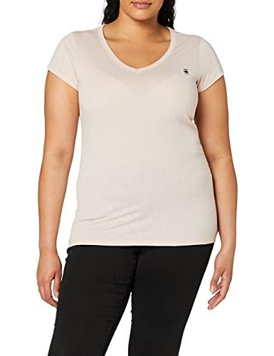 G-STAR RAW Eyben Slim Short Sleeve_T-Shirt Camiseta, Rosa (Pyg 2757-7176), XL para Mujer