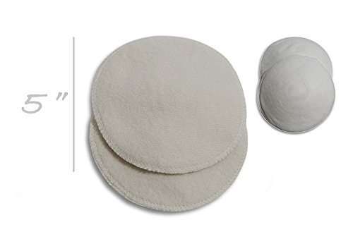 For Sale! Soothingly Soft Organic Merino Wool Nursing Pads, Style EKSTRA, XS - 5 in. Diameter