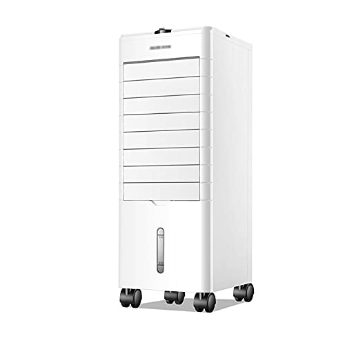 QINGZHUO Evaporative Air Cooler,mobile Air Conditioners,Tower fan,Cooling& Humidifier & Purifier,Silent,3 fan Speeds,3 Mode,for Home Office.