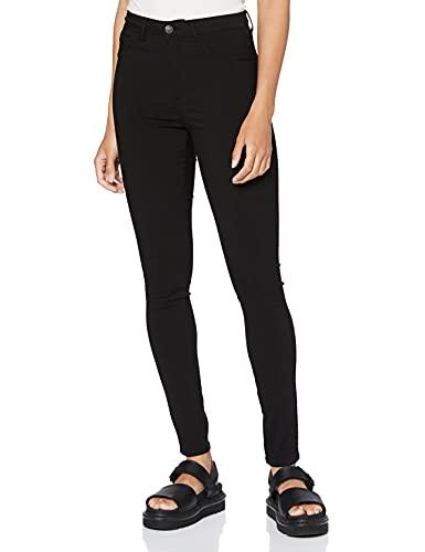 PIECES Damen PCHIGHSKIN WEAR Jeggings Black/NOOS Skinny Jeans, 42 (Herstellergröße: XL)