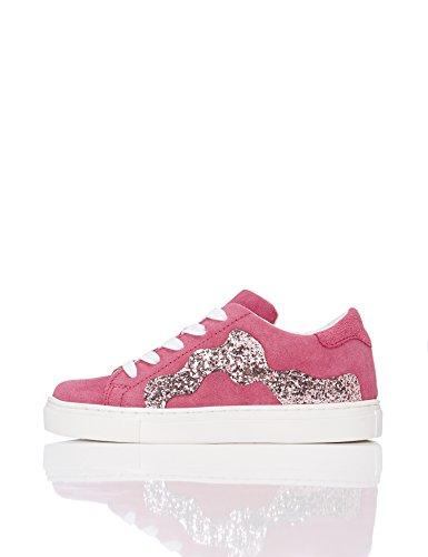 RED WAGON Mädchen Sneaker mit Pailletten, Rosa (FUSCHIA), 33 EU (1 UK)