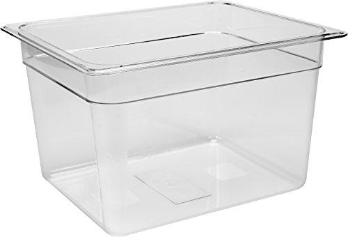 Yato Profi Polycarbonat GN Gastronormbehälter 1/2 Größen Auswahl 65-200mm auch Deckel Gastro Norm Behälter Kunststoff (Höhe 200mm)