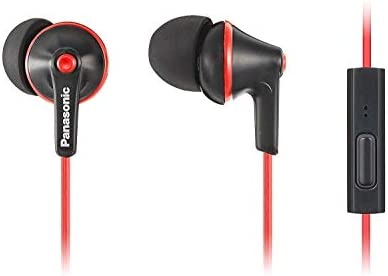 PANASONIC ErgoFit Earbud Headphones with Microphone and Call Controller Compatible with iPhone product image