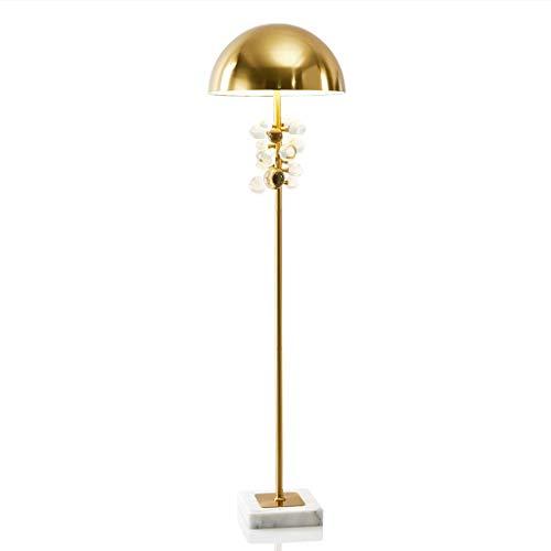 LY88 Licht? Metalen Post-moderne IJzeren Vloerlamp Creatieve Marmeren Basis Kristal Decoratieve Staande Licht