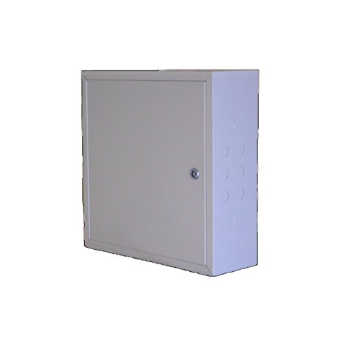 Ampliantena Armario metálico de 45x45x15cm con Fondo de Mad