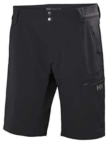 Helly-Hansen Mens Brono Outdoor Shorts, 980 Ebony, Medium