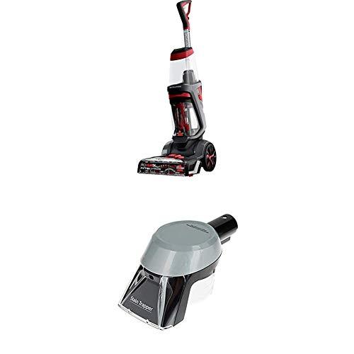 BISSELL 1858N ProHeat 2X Revolution Teppichreinigungsgerät, (800 W - 3.7 L) + Stain Trapper Aufsatz zur Fleckenreinigung für alle Bissell Flecken- und Teppichreinigungsgeräte
