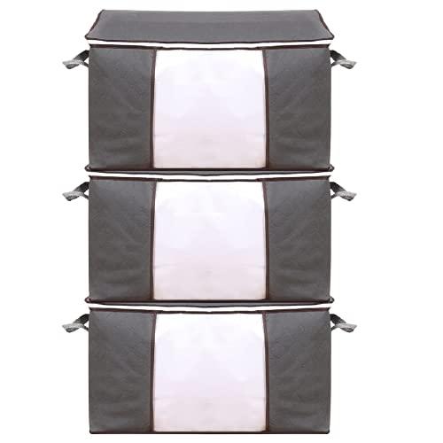WT9 Bolsa de almacenamiento de ropa de gran capacidad para edredones, mantas,...