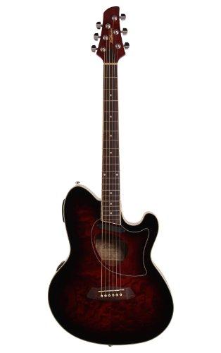 Ibanez Talman TCM50 Cutaway Acoustic-Electric Guitar Vintage Brown Sunburst