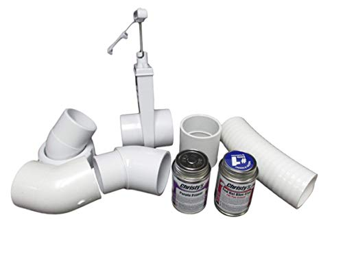 American Spa Parts Dynasty Hot Tub 2' 45° Pump Union to Plumbing Glue Connection Kit How to Video