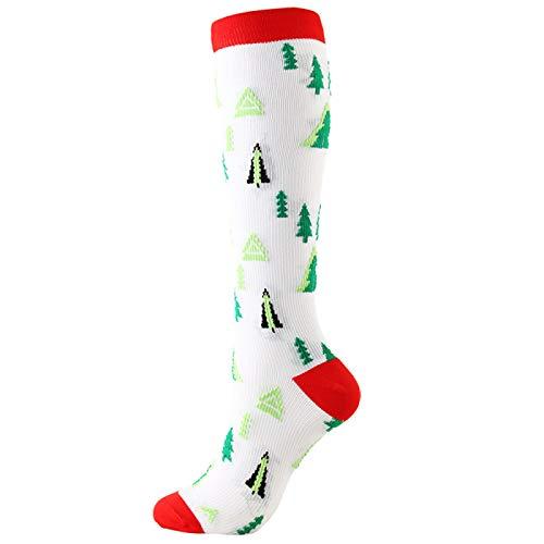 Socken Strümpfe Weihnachtssocken Baumwolle Warm Atmungsaktiv Bequem Casual Cartoon Funny Harajuku Unisex Gr. Small/Medium, 43 Weihnachtsstrümpfe / 3 Paar