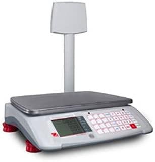 Ohaus A71P15DTNUS Aviator 7000 Advanced Price Computing Retail Scale 15/30lbs W Tower