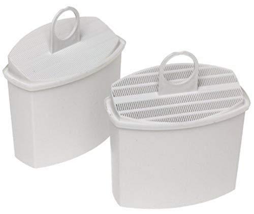 Braun Pureaqua Brita KWF2 Juego De 2 Cartuchos Filtro De Agua, Plástico, Blanco
