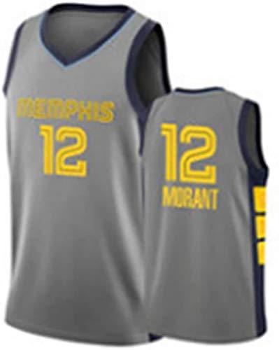 GFGD Memphis Grizzlies No. 12 Uniforme di Basket Pallacanestro Pantaloncini Retro Maglia Traspirante Ricamo Pallacanestro Jersey ad Asciugatura Rapida