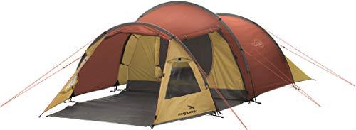 Easy Camp Spirit 300 Tienda de campaña, Unisex Adulto, Rojo cálido, 200 x 410 cm