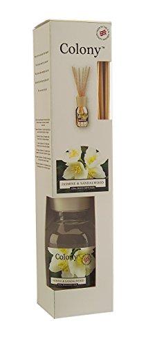 Wax Lyrical Colony Reed Diffuseur , jasmin et bois de santal 120ml