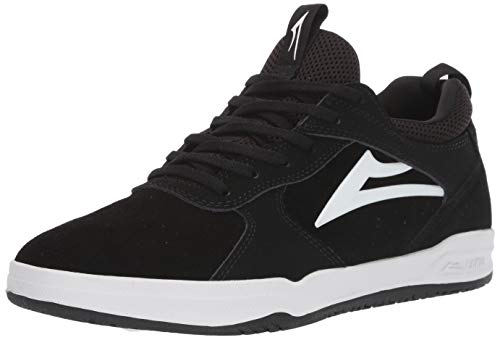 Lakai Footwear Sommer 2019 Tennisschuh, Schwarz (Schwarze Velourslederoptik), 47 EU