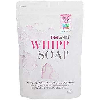 Snail White Whipp Soap by Namu Life 100 g. By PS