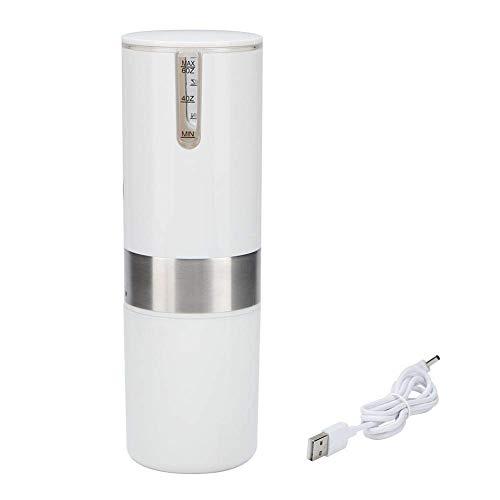 Nfudishpu Mit Wasserkapazitätsskala USB/Batteriebetriebene automatische Kaffeemaschine, weiße elektrische Kaffeemaschine Für Zuhause, Büro