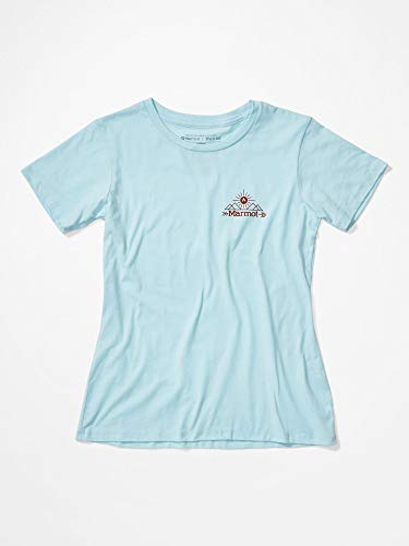 Marmot Damen Arrow T-Shirt, Corydalis Blue Heather, XL