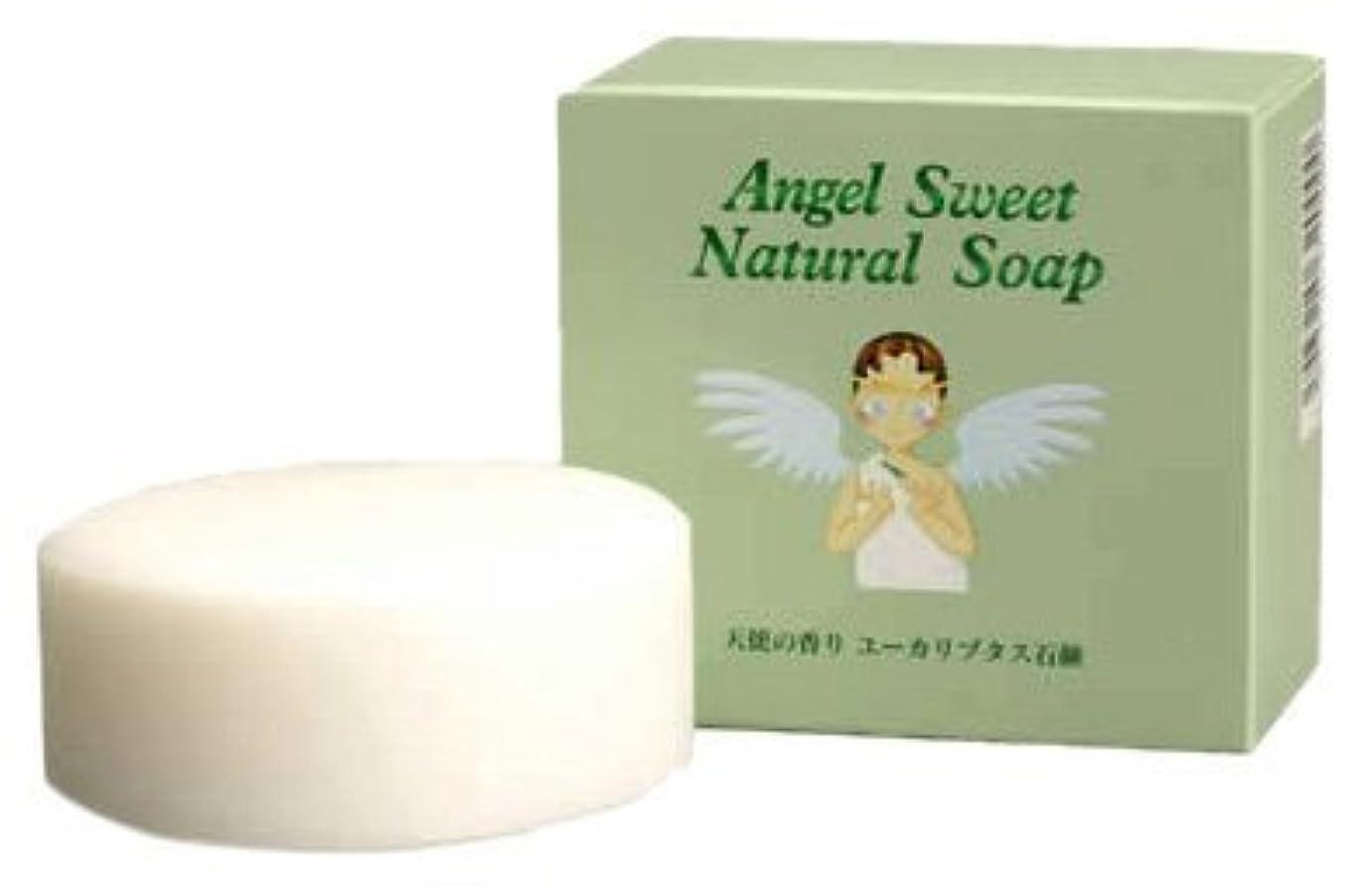 白い驚くべきすぐにユーカリプタス石鹸100g