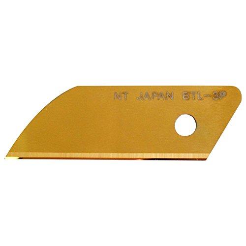 エヌティー カッター 替刃 L型用 超硬 チタンコーティング 金 BTL-3P