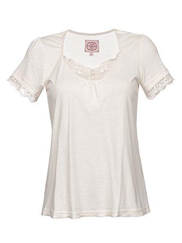 Vive Maria Basic Lace Shirt T-Shirt Creme L