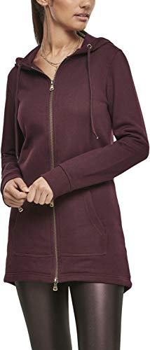 Urban Classics Damen TB1075 Strickjacke, Rot (Redwine 02243), 5XL