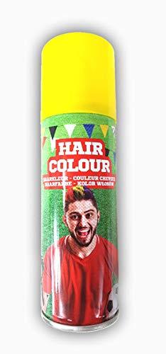 store Color Haarspray 125 ml   Haarfarben Fasching Karneval Halloween farbig gelb
