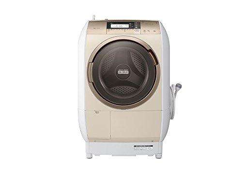 日立 10.0kg ドラム式洗濯乾燥機【左開き】シャンパンHITACHI BD-V9700L-N