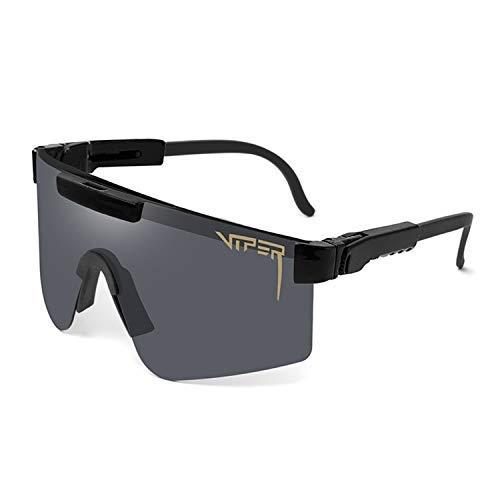 Gafas de sol polarizadas deportivas para hombres y mujeres al aire libre a prueba de viento gafas anti-uv Golf Pesca Ciclismo