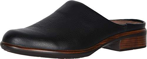 NAOT Footwear Women's Lodos Clog Soft Black Lthr 7 M US