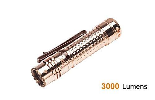 ACEBEAM TK18 Copper LED Flashlight - Samsung LED, 3000 Lumen