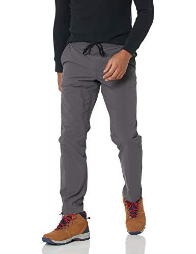 Amazon Essentials Men's Pull-On Moisture Wicking Hiking Pant, Charcoal, Medium