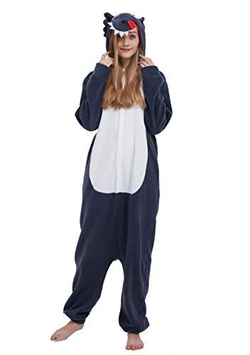 Pijama Animal Entero Unisex para Adultos con Capucha...