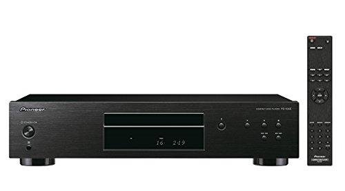 Pioneer PD-10AE Pure-Audio-CD-Player (mit Silent-Drive-Laufwerk und 10ppm-Precision-Clock) Schwarz