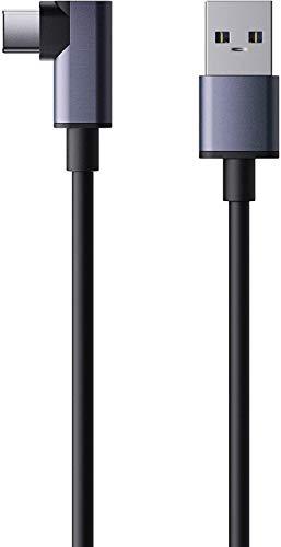Oculus Link Kabel 5m/16ft, Amavasion USB Typ A auf USB C Kabel für 5Gbps Hochgeschwindigkeits-Datenübertragung und Schnelles Aufladen Kompatibel mit Oculus Quest 2/Oculus Quest VR Gaming Headset