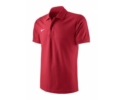 NIKE Junior Express Core Polo, Edad 6-8/XS, Color Rojo