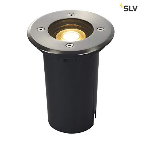 SLV SOLASTO 120 Outdoor Bodeneinbauleuchte, GU10, 6 W, edelstahl