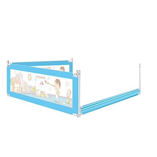 Barriera letto HUO Letto Anti Caduta per Bambini Guardrail Letto Guardrail Safety 1st Sponda Sicurezza Ribaltabile Universale (Dimensioni : 1.5m)