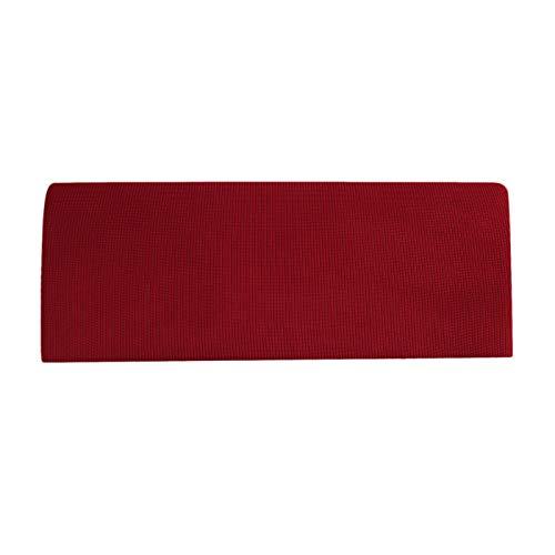 Baoblaze Leichtes Stretch Bett kopfteil rutsch Abdeckung Bett Kopf Abdeckung Staub dichter Schutz Abdeckung für Kinder Erwachsene Schlafzimmer Bett dekor - Wine Red